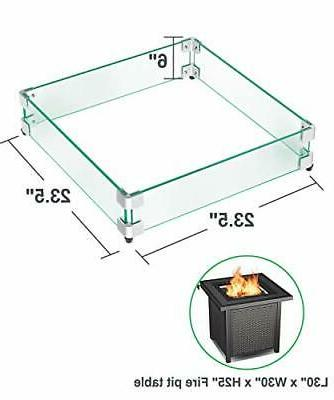 Pit Glass Clear Tempered Glass Guard