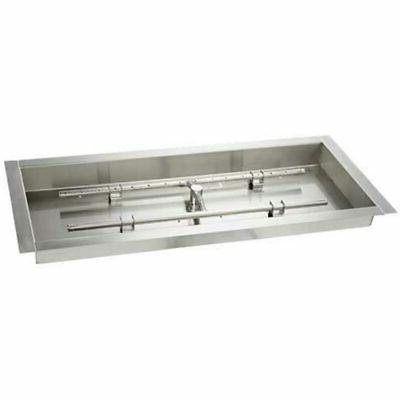 hearth products controls stainless steel fire pit