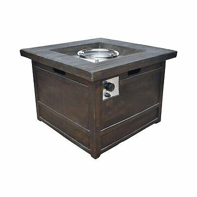 landman outdoor fire pit by 32 gas