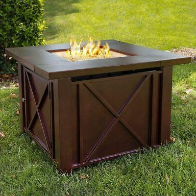 NEW Table Outdoor Gas Fireplace Propane Deck