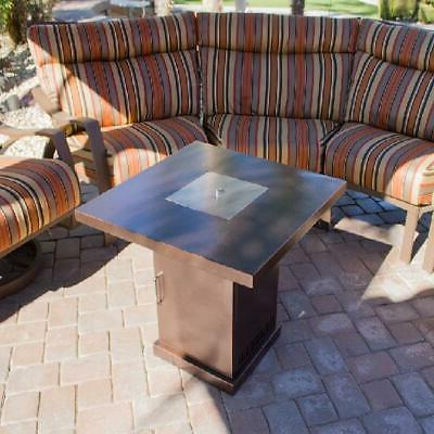 AZ Patio Conventional Propane Pit in Hammered Bronze