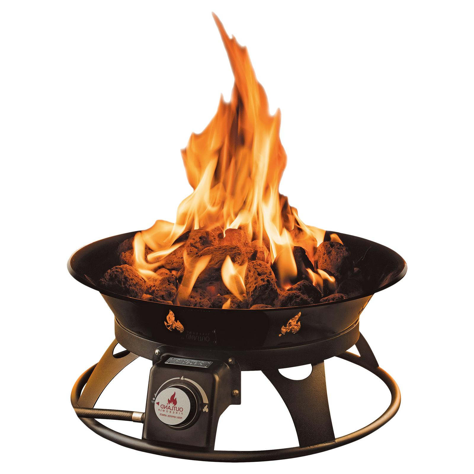 Outdoor Fire Pit Propane Gas Outland with Cover