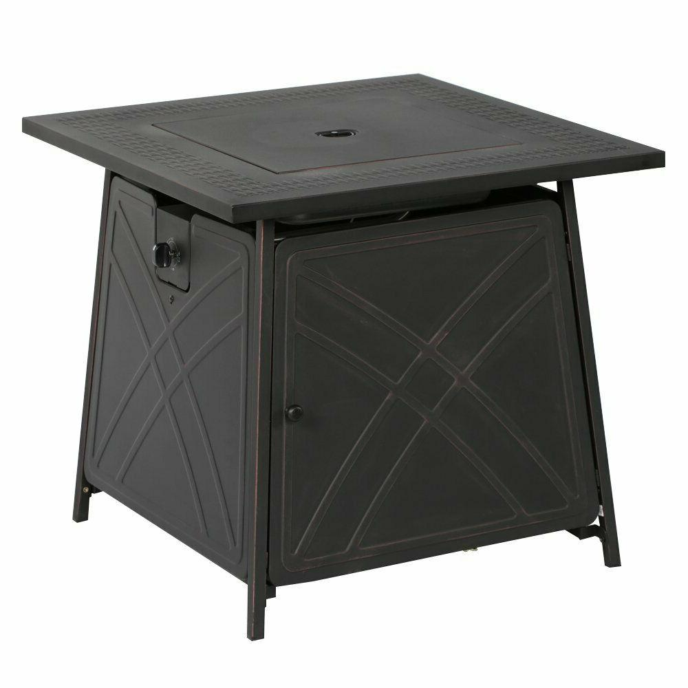 "Bali Outdoor Pit Gas Table 28"" Fireplace 50,000BTU US"