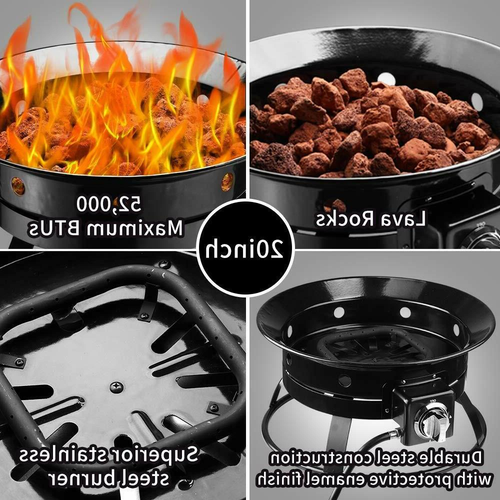 Outdoor Gas Pit