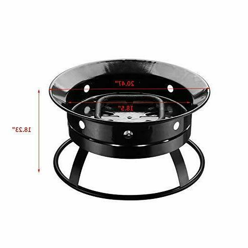 Outdoor Gas Fire Pit Portable with