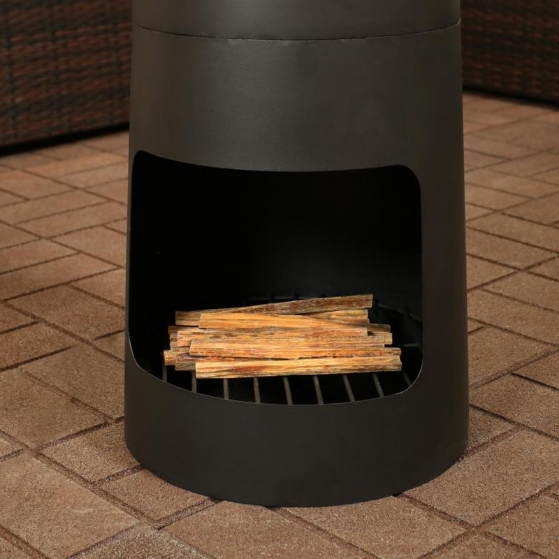 Outdoor Pit Wood Heater Fireplace