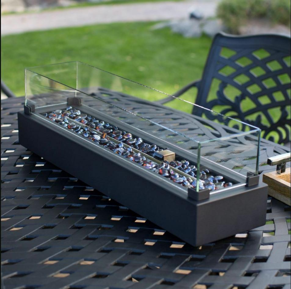 Outdoor Tabletop Gas Pit Propane