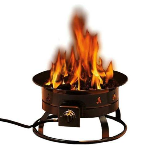 portable fire pit propane outdoor camp 58