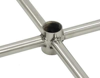 """American Round Stainless Steel Fire Natural 48"""""""