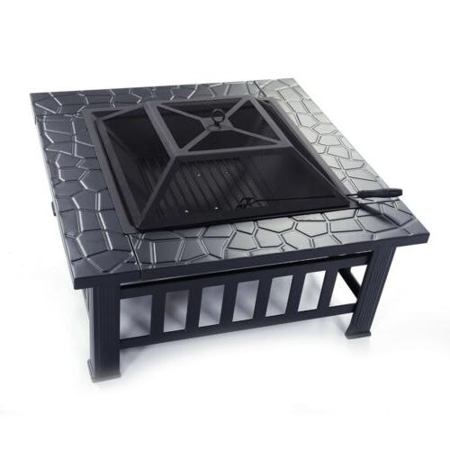 """32"""" Outdoor Pit Square Bowl"""