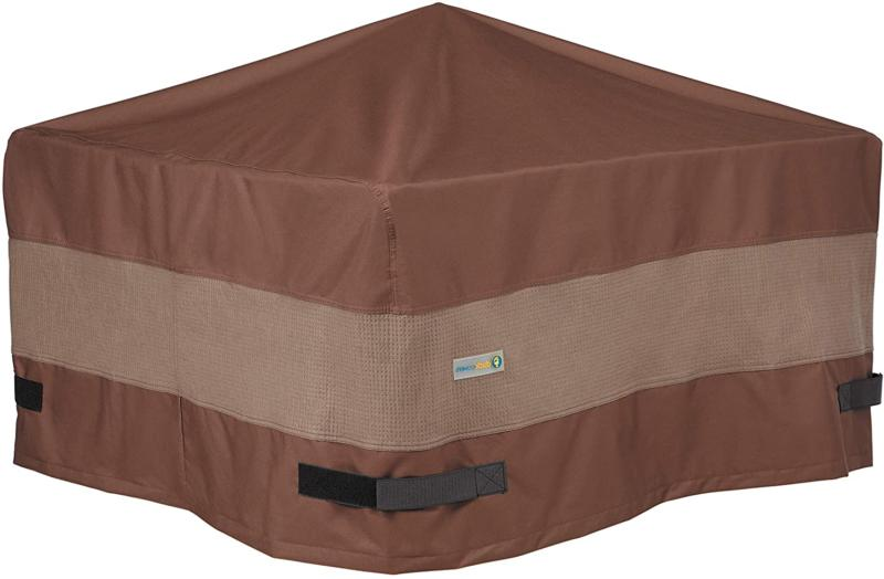Duck Covers Ultimate Waterproof 40 Inch Square Fire Pit Cove