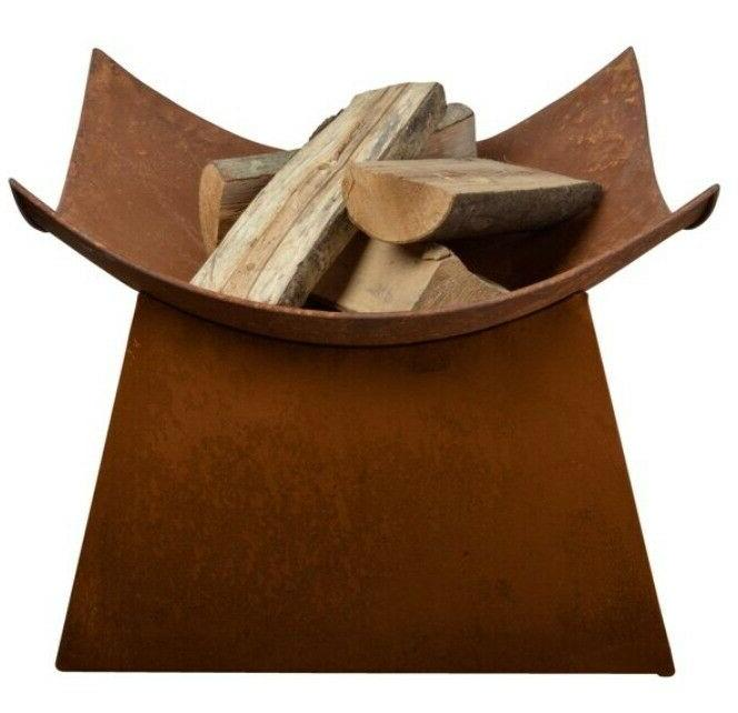 Wood Outdoor Fireplace Bowl 19 Steel