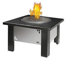 Napoleon Patioflame Fire Pit Table w/ Glass and Granite Top,