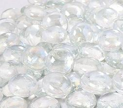 NEW KIBOW 10 Pound Pack Fire Glass Beads for Gas Fire Pit 3/