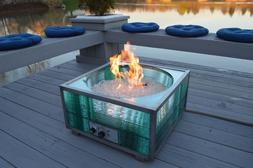 NEW! Custom Outdoor Natural Gas Fire Pit and Backyard Patio