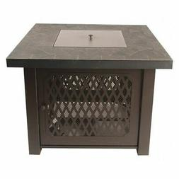 PLEASANT HEARTH OFG828T Fire Pit Table,Gas,Walden