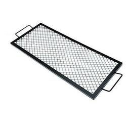 Onlyfire Rectangle X-Marks Fire Pit Cooking Grate, 36-Inch