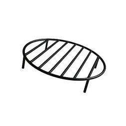 onlyfire Round Fire Pit Grate with 4 Legs for Outdoor Campfi