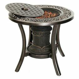 Hanover Outdoor 24 diam. Fire Pit Side Table