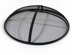 Outdoor Fire Pit Cooking Grill Metal Fire Pit Screen Cover