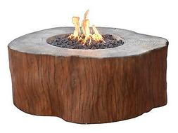 Elementi Outdoor Manchester Fire Pit Table 42 x 40 Inches Pr