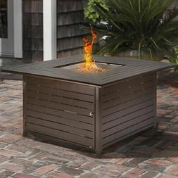 Outdoor Patio Fire Pit Table Deck Heater Propane Fire LG Gas