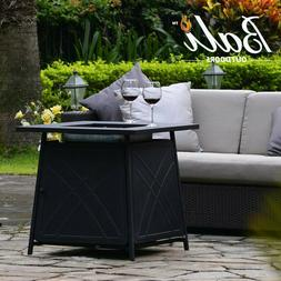"""BALI OUTDOORS LP Fireplace 28"""" Square FireplaceTable 50,000B"""