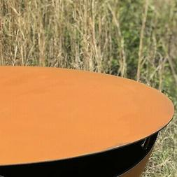 """Fire Pit Art Round Fire Pit Table Top, 40"""""""