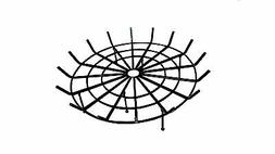 Round Spider Grates For Outdoor Fire Pits