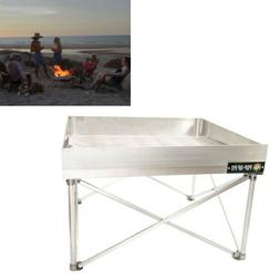 Small Portable Folding Fire Pit For Camping Beach Bonfire Co