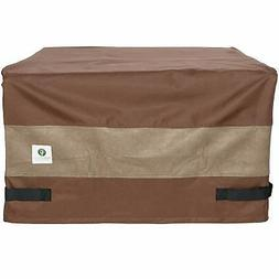 Duck Covers Ultimate Square Fire Pit Cover, 32-Inch  with Ul