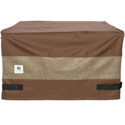 "Duck Covers Ultimate Square Fire Pit Cover 40"" L x 40"" W x 2"