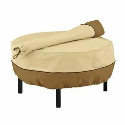 Veranda Cowboy Fire Pit Grill Cover and Rotisserie Storage B