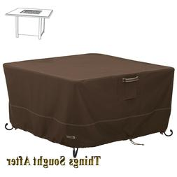 WATERPROOF COVER for 42Wx42D SQUARE FIRE PIT TABLE Outdoor F