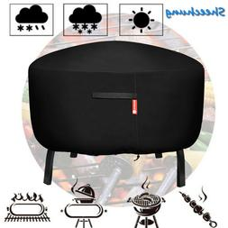 Waterproof Heavy Duty Patio Round Fire Pit Cover BBQ Grill U